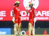 Chris Gayle (left) and KL Rahul