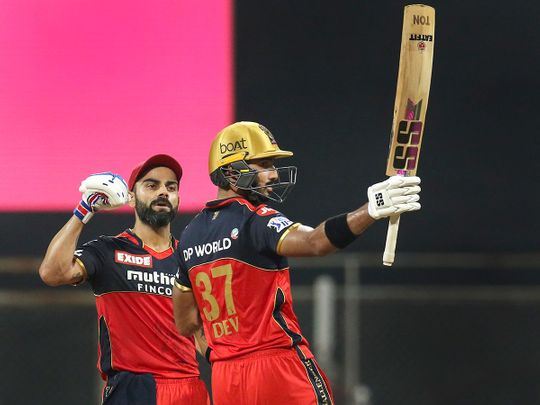 Devdutt Padikkal and Virat Kohli guided RCB past Rajasthan