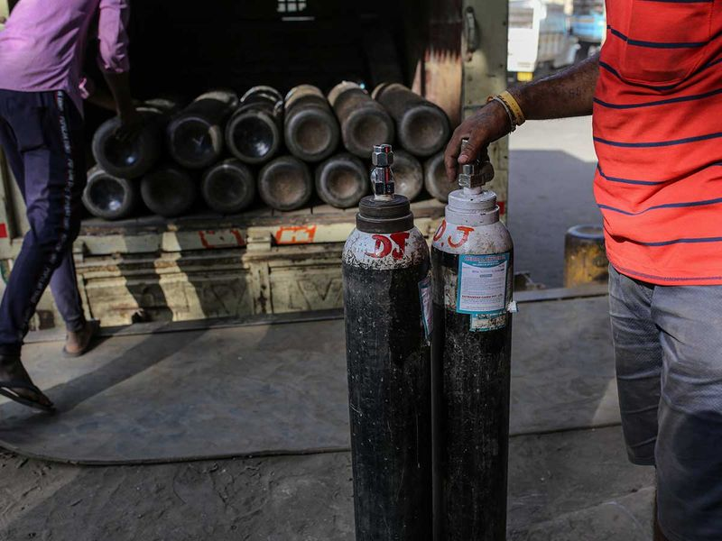 Oxygen gets armed escort in India as supplies run low in COVID-19 crisis