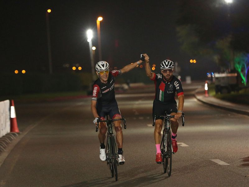 Brajkovic leads from start to finish at Nad Al Sheba Cycling Championship