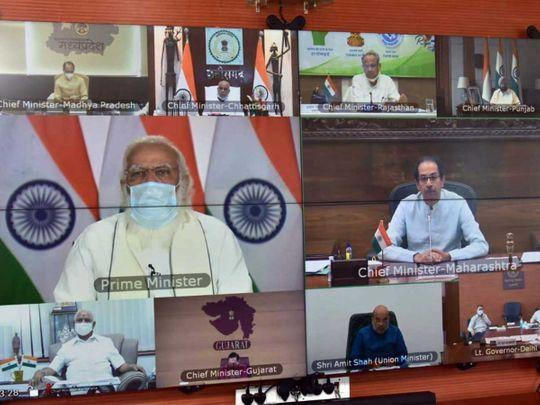 Modi chief ministers covid