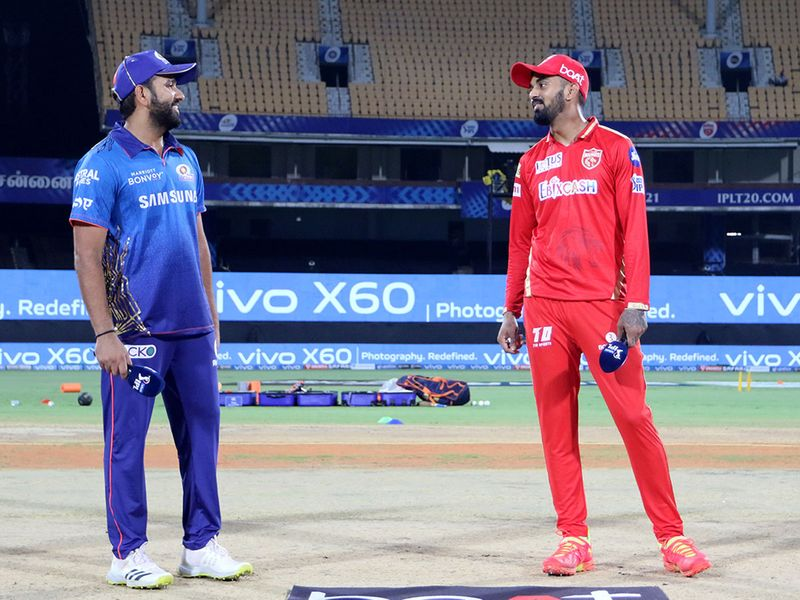 Rohit Sharma (left) with KL Rahul
