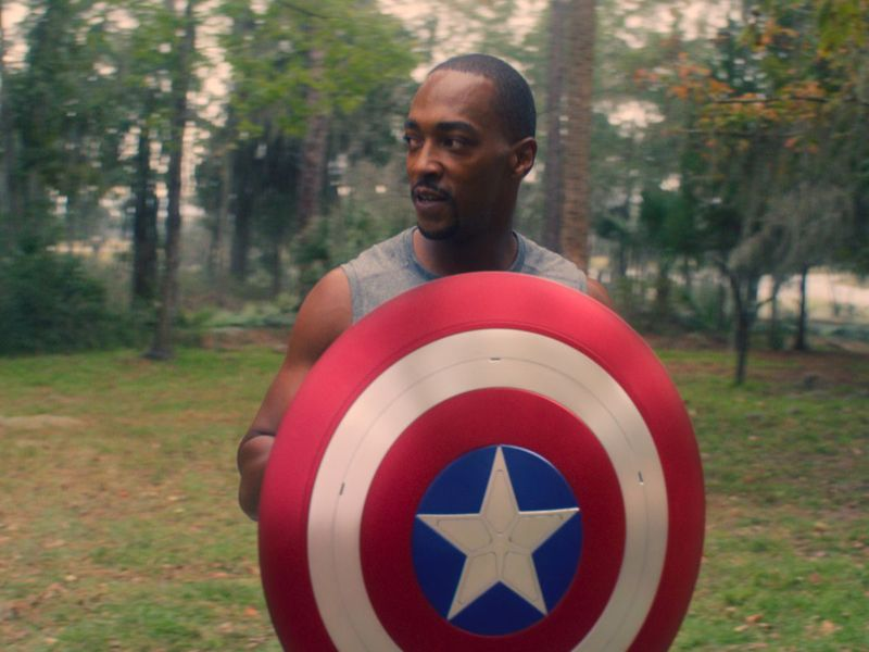 Anthony Mackie in The Falcon and Winter Solider