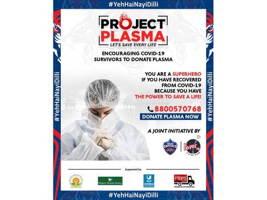 Delhi Capitals' Project Plasma campaign
