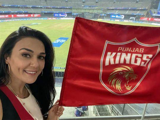 Preity Zinta is co-owner of IPL side Punjab Kings