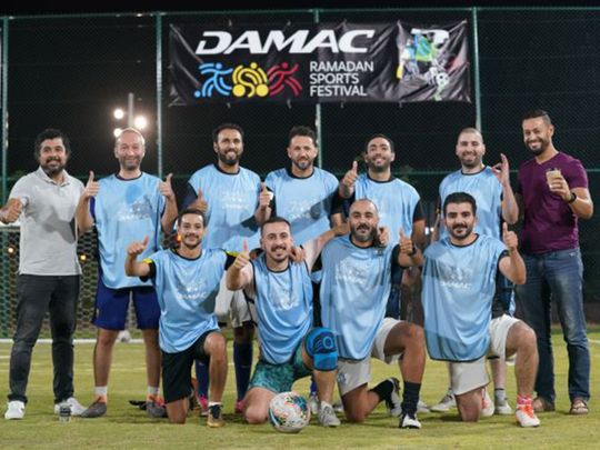 Damac Properties kicked off its Ramadan Sports Festival in Dubai