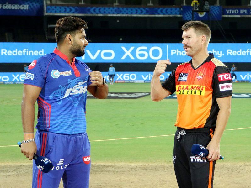 Rishabh Pant and David Warner