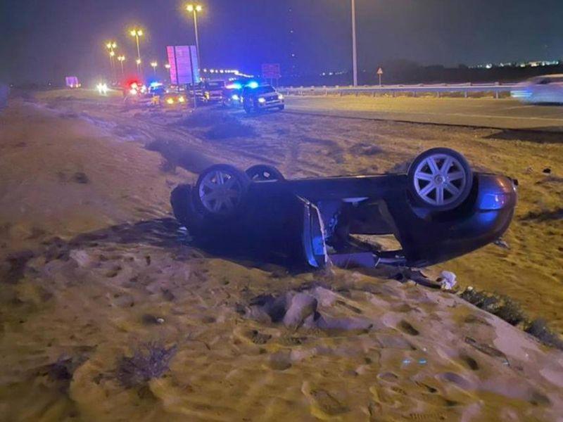 UAQ Road accident