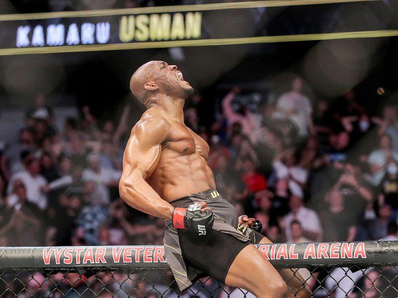 UFC 261: Kamaru Usman vs Jorge Masvidal.