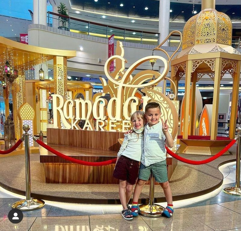 Even at the age of five Rachael's twins know that Ramadan is a very special time of year