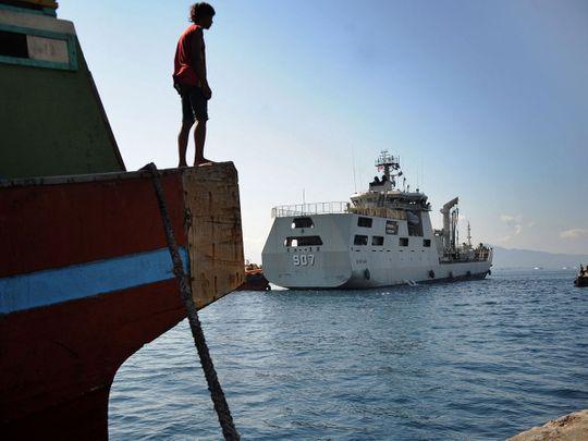 Indonesian Navy patrol boat