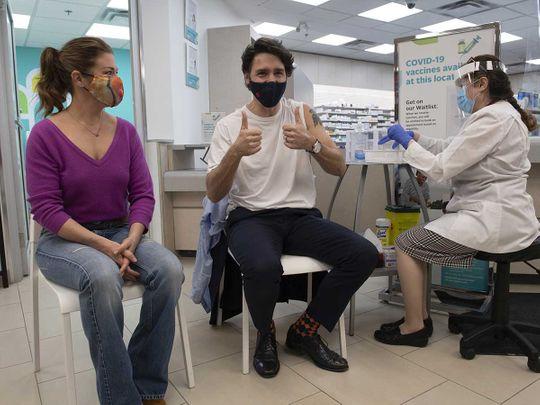 Justin Trudeau vaccine covid canada prime minister