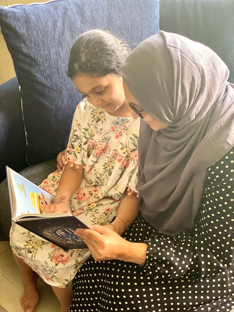 Mum of two Mehnaz  wrote and compiled a book called 'After Iftar Tales' to help bring families together this Ramadan