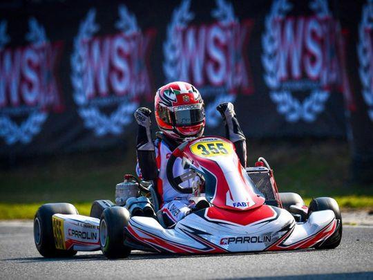 Rashid Al Dhaheri wins the 2021 world title in Italy