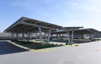 Rooftop Solar Panels in the Garhoud Parking Building-1619435016575