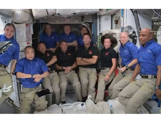 spaceX ISS NASA
