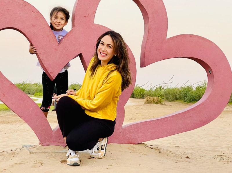 Bianca and her daughter Clara