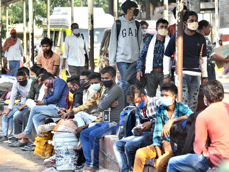 India bengaluru karnataka bus stand covid