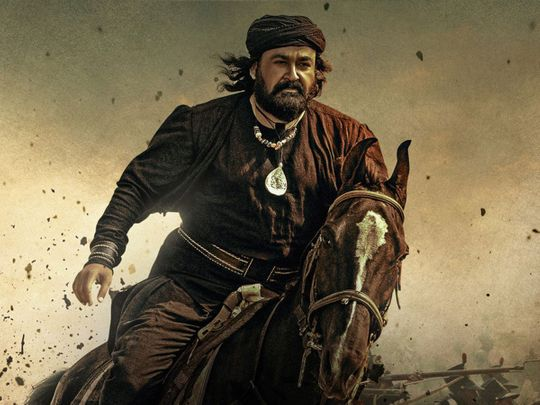 Mohanlal in the warrior epic