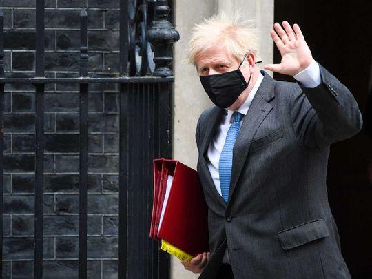 Boris Johnson Britain PM