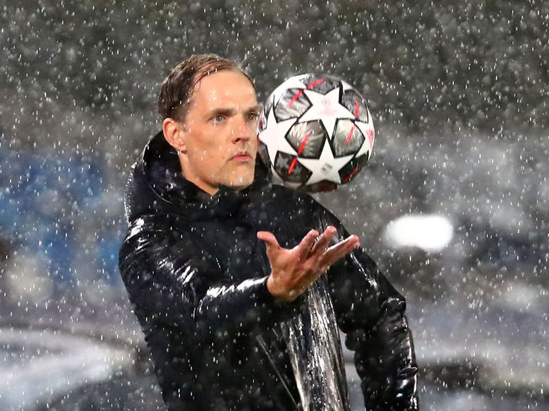 Chelsea boss Thomas Tuchel during the clash with Real Madrid