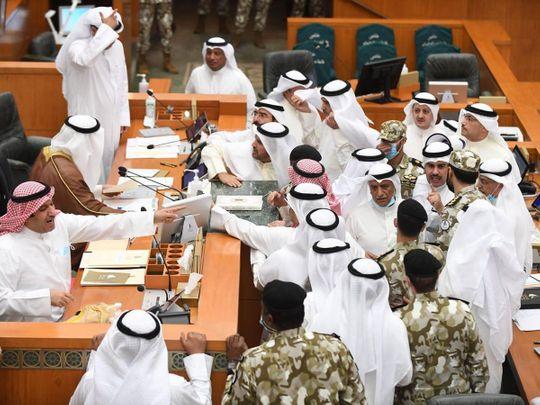 Kuwait MPs