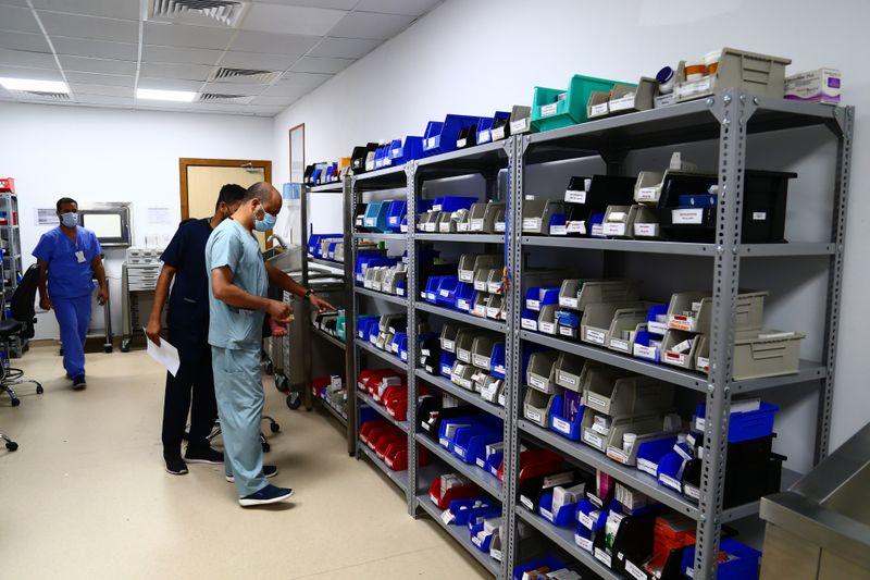 NAT 210422 Mohammed Bin Zayed Field Hospital Sharjah CE033-1619618028053