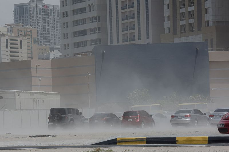 Sandstorm in Sharjah