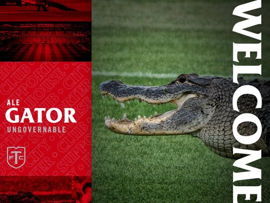Toronto Fc joked that they had signed the alligator