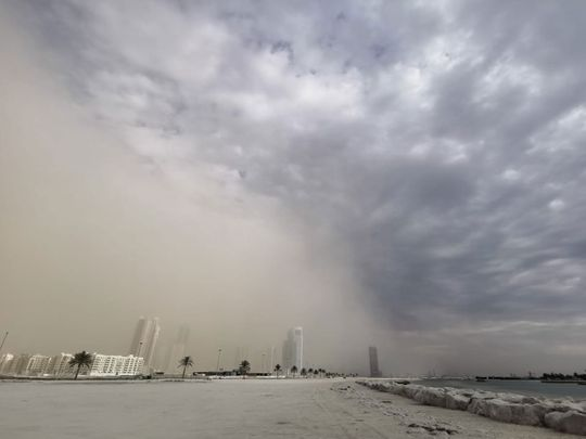 Weather in Sharjah