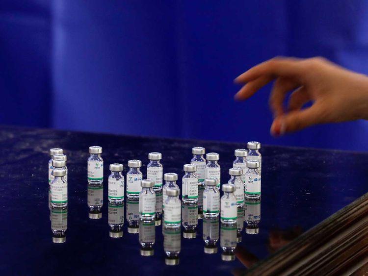 pakistan vaccine vials sinopharm covid