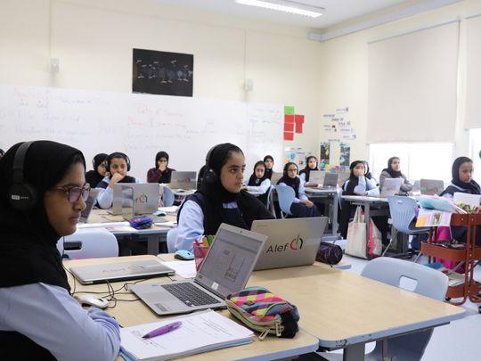 Alef Platform being used in a UAE public school-1619677326862