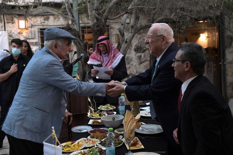 Israeli president hosted an iftar on April 28, 2021