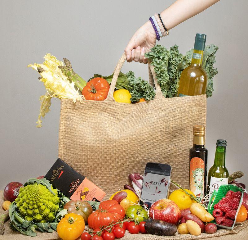 Les Gastronomes, The Market