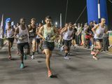 Moroccan men made a clean sweep of the podium in the Open category of the Nad Al Sheba Sports Tournament 10km Run on Wednesday night