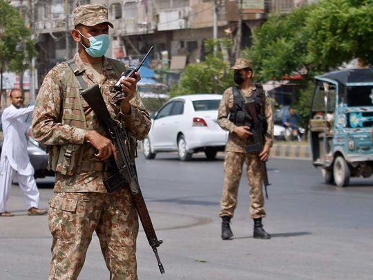 Sindh Karachi army covid lockdown
