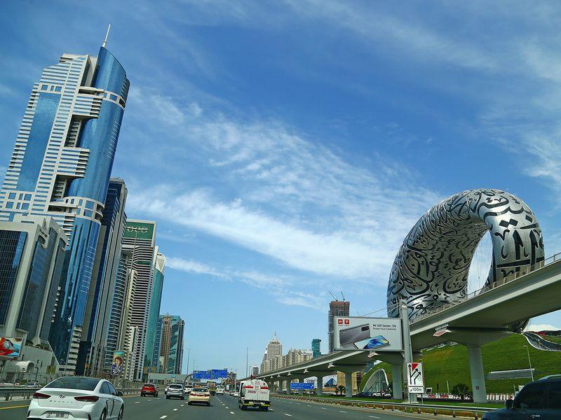 Stock Dubai skyline property