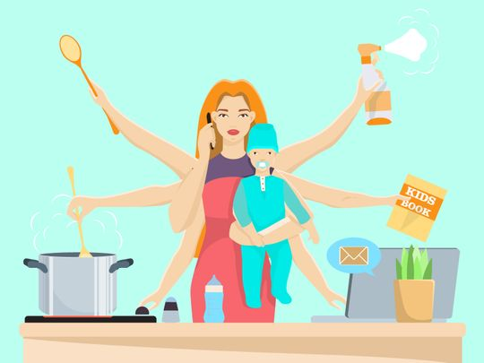 The idea that women need to sacrifice themselves to be a good mum? It's a lie