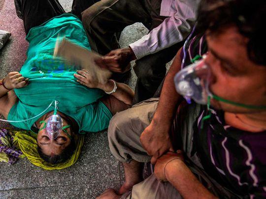 india covid oxygen