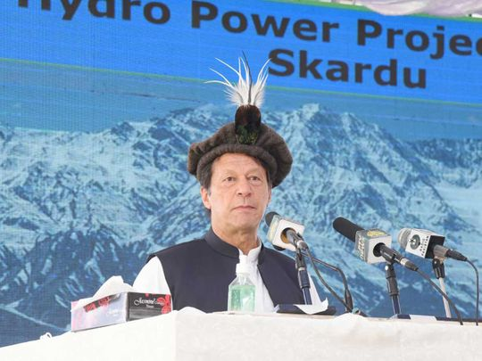 Pakistan PM Imran Khan Gilgit