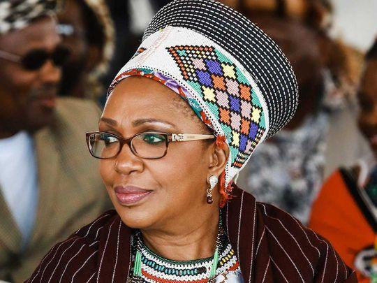Zulu Queen Mantfombi Dlamini Zulu