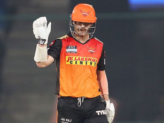 Sunrisers Hyderabad's David Warner