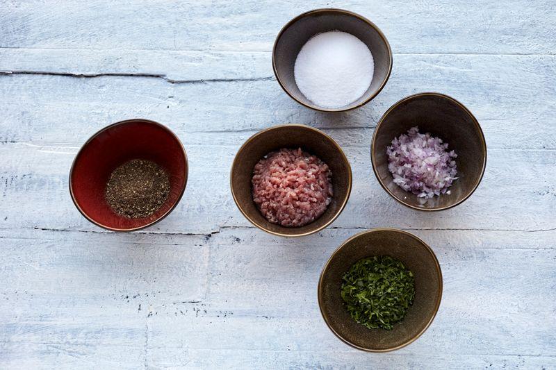 Arayees paratha stuffing ingredients