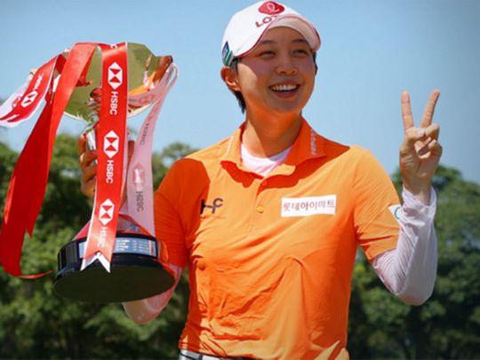 South Korea's Kim Hyo-joo