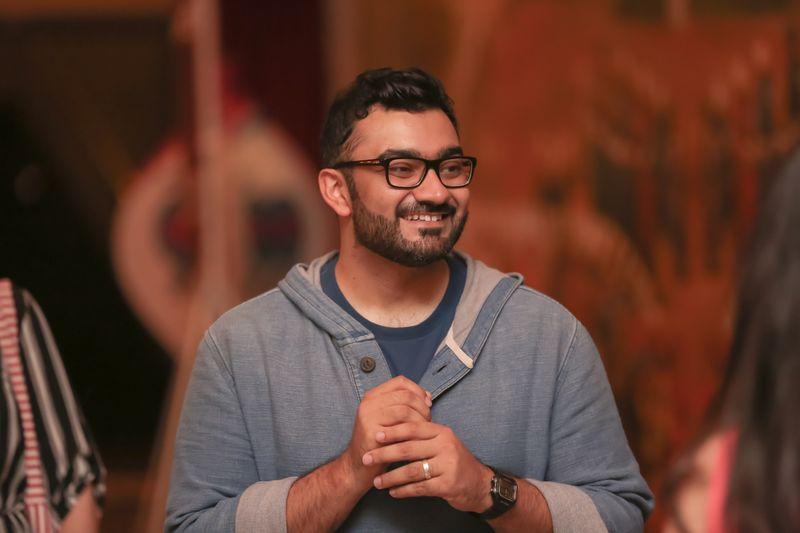 Comedian Ali Al Sayed