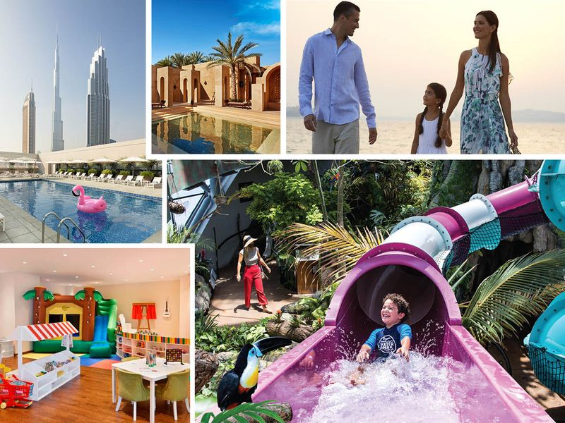 Family friendly Eid staycations in the UAE