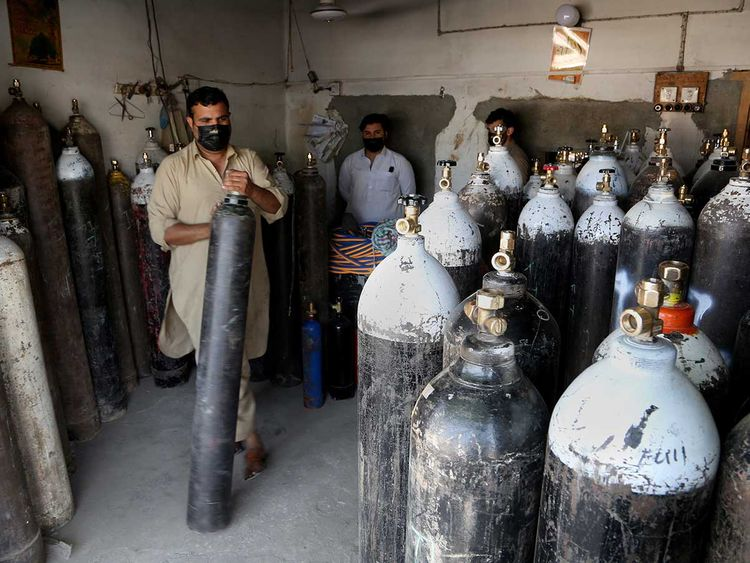 Pakistan covid oxygen