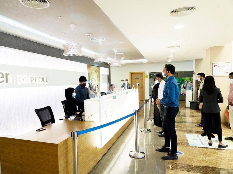 Stock Dubai Healthcare