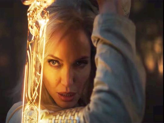 Angelina Jolie in Marvel's Eternals