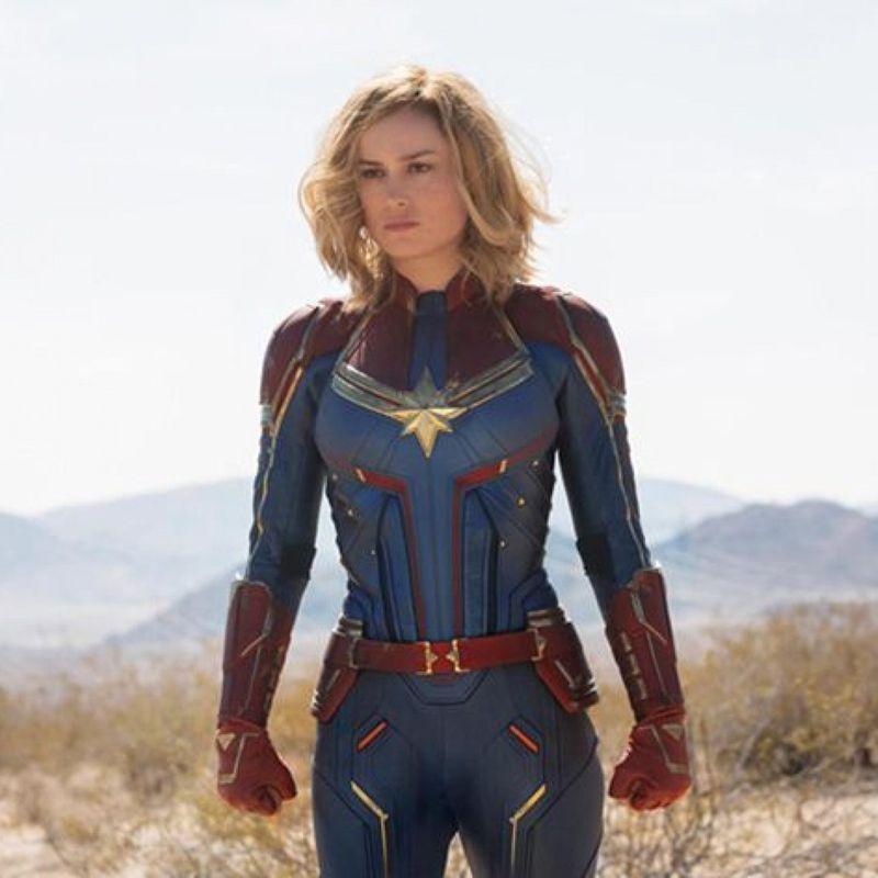 Brie Larson Captain Marvel-1620221554897